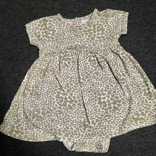 Carters romper dress 6m