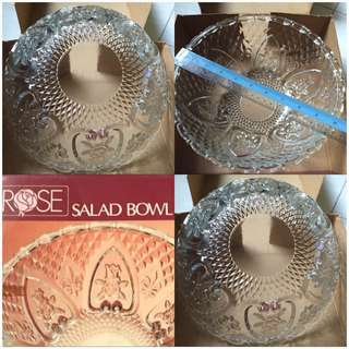 Rose Salad Bowl