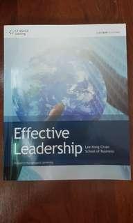 Effective leadership textbook