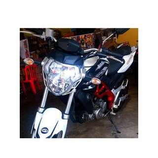 Demak DZM200 motosikal promosi