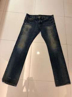 Jeans merek andy warhol by hysteric glamour limited edition