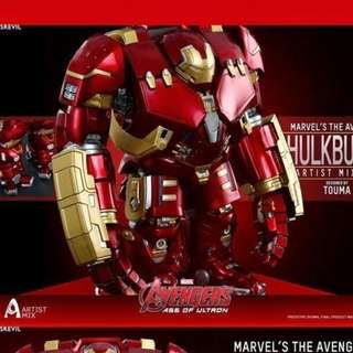 全新 絕版復仇者聯盟 Hot Toys Age of Ultron Hulkbuster by Touma Ironman Iron man 鋼鐵人 ,從未開盒及display ,多谷!