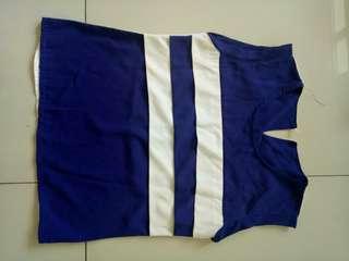 Blue&white top