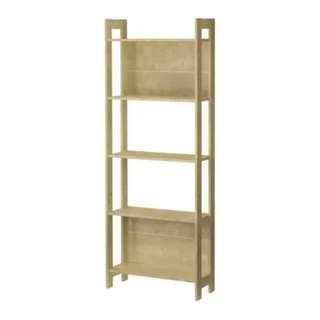 二手傢俬 IKEA 宜家 LAIVA 萊瓦書架 Birch effect 淺樺木色 固定層架 9成新
