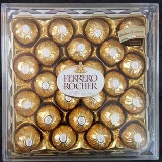 Ferrero Rocher - A Box of 24 - PROMOSI RAYA
