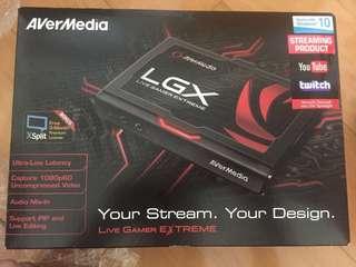 AverMedia Live Gamer Extreme LGX 遊戲直播盒