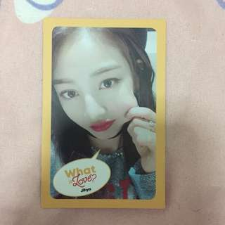 Twice What Is Love Jihyo pc