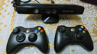 Xbox kinect 360 and remote control 360