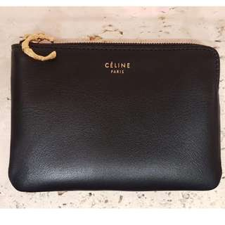 Celine 特別版 SOLO COIN AND CARD PURSE ON CHAIN 代購