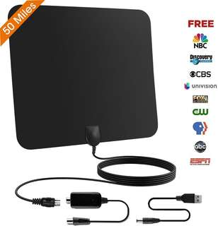HDTV Digital Indoor TV Aerial 50miles Antenna