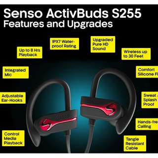 SENSO Bluetooth Wireless Headphones - Amazon best selling product, less than a week old - 50% off