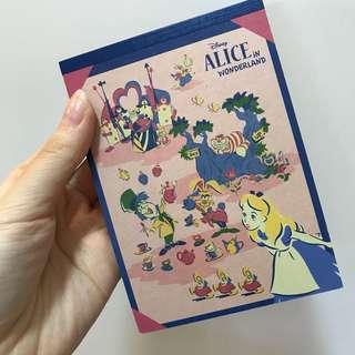 Alice 信紙簿