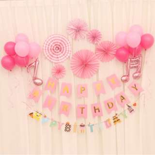 🚚 (In Stock)Party Decoration Set-Happy Birthday