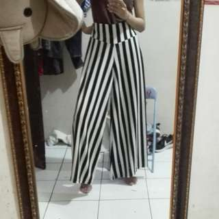 NEW Culot Stripe Highwaist