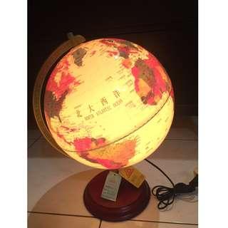 燈光地球儀