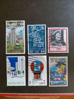 香港郵票 回歸前已銷郵票 A001