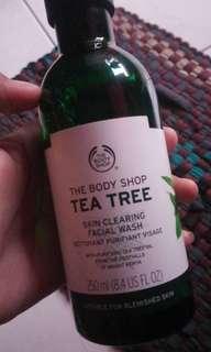 The body shop facial wash