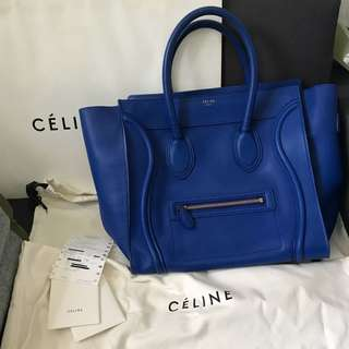 100% Real 85% New Celine Mini Luggage