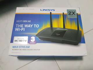 WTS Brand New Linksys AC1900 Router