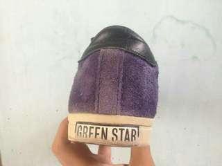 Adidas green star.  ukuran 41 1/3