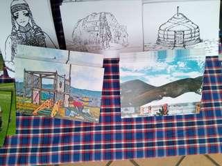 🚚 送愛到你家❤️ 從外蒙古寄明信片給你!