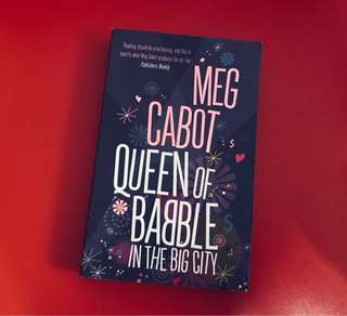 Meg Cabot Queen of Babble in the Big City