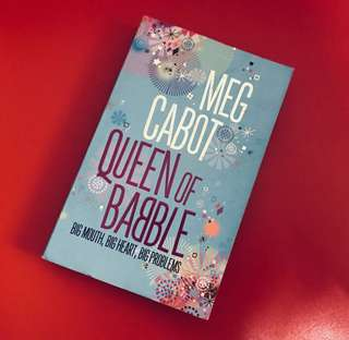 Meg Cabot Queen of Babble Big Mouth, Big Heart, Big Problems