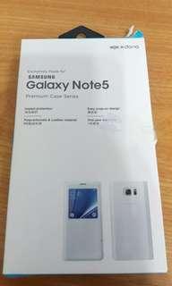 Samsung galaxy note 5 手機套 有摺合功能