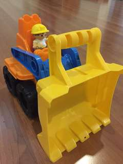Truck mega blocks