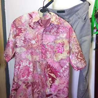 #mausupreme bundling baju batik dan celana katun