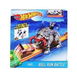 Mainan Mobil Mobilan HOT WHEELS BULL RUN BATTLE - FDT52