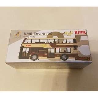 微影 Tiny 復古80周年 巴士 KMB Enviro 400 Bus 路線2 #35 模型車仔 (包郵)