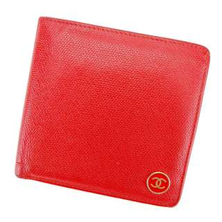 [預訂]Vintage Chanel Coco-Red Wallet