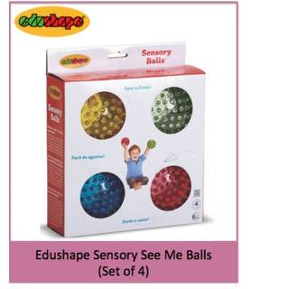 BN EDUSHAPE Sensory Balls (Set of 4)