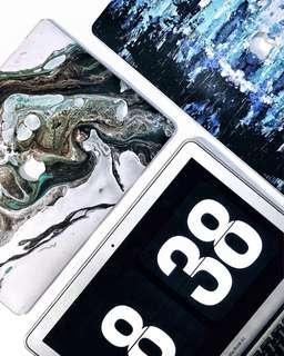 MacBook Hard Case (Wicked Marble & War Paint)