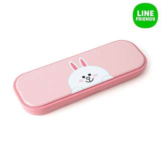 LINE Cony Classic Metal Pencil Case