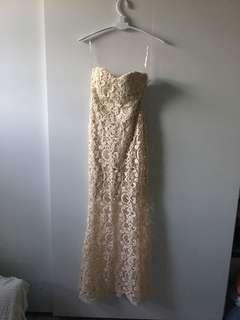 魚尾裙/婚攝裙/禮服/宴會裙/攝影服/晚裝