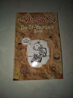 Diary of a wimpy kid book