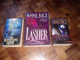 Lives of the Mayfair Witches Books by Anne Rice (bundle)