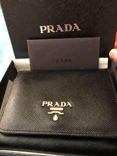 Prada 短銀包,有coins位,85%new