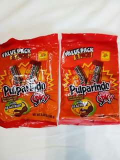 Pulparindo Mexican Spicy Chewable Tamarind Candy(130/pk)