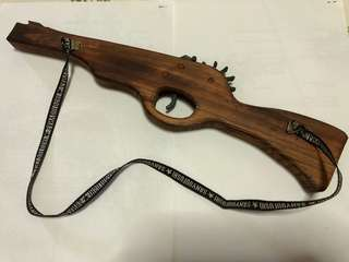 Wooden Rubber Band Rifle