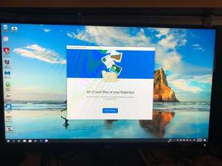 DELL S2316H bezel less monitor with built in speakers