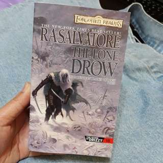 R.A Salvatore (Forgotten Realms); The Lone Drow