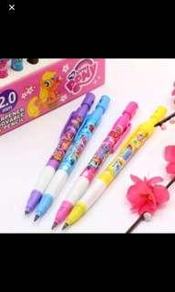 PO My Little Pony pencils brand new *min order 10pcs