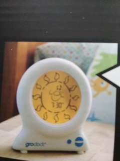 Groclock used with story book