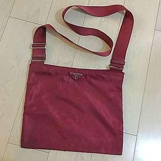 Prada 防水面料輕便斜背包 Shoulder Bag