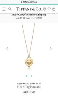 Genuine Tiffany&Co. pendant