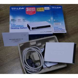 TP-Link 5 ports 10/100 Mbps Desktop Switch TL-SF1005D