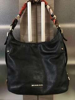 Authentic Michael Kors Bedford Belted Large Shoulder Bag